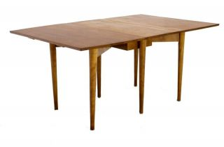 Paul McCobb Mid Century Modern Drop Leaf Dining Table.