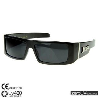 Mens new gangster hip hop rapper LOCS shades sunglasses 8107 black
