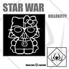 Hello Kitty Car Windows wall iPad Sticker Decal Graphic Vinyl 6 star