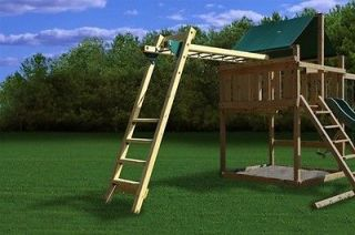 PLAY SET MONKEY BAR KIT SLIDE PLAYGROUND TOY SWING SET PARK HANDLE