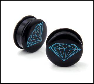 diamond ear plugs in Plugs & Tunnels