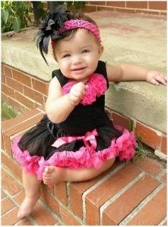 2Pcs Baby Girl Kids Top+Skirt Dress Tutu Pettiskirt Cloth Costume