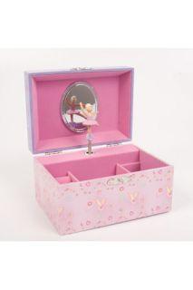 Girls Kids Childrens Pink Lucy Locket Musical Jewellery Trinket Box