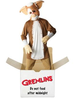 Licensed Gremlins Gizmo New Fancy Dress Costume Halloween Mens Gents
