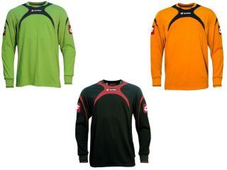 Junior Goalkeeper Football Jersey Boys Soccer Shirt Top All Sizes