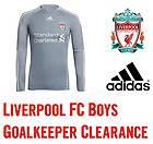 FC Adidas Boys Kids Junior Goalkeeper Jersey Shirt Soccer Football