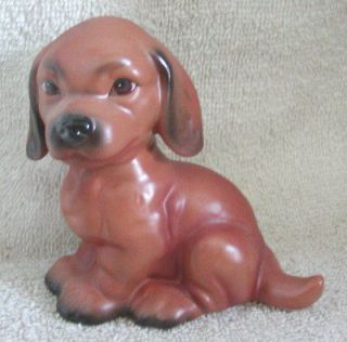 Adorable Goebel West Germany Porcelain Pup Dog Figurine