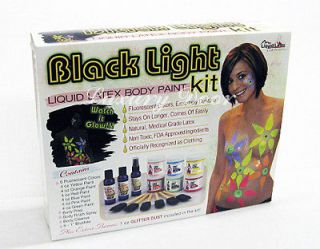 Fantasy Liquid Latex Body Paint Kit *Glow in the Dark*