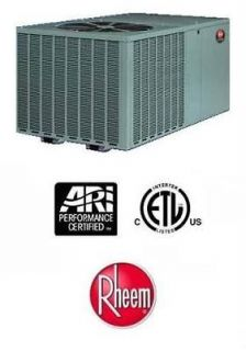 Rheem R410A Packaged Heat Pumps 13 SEER 3 Ton