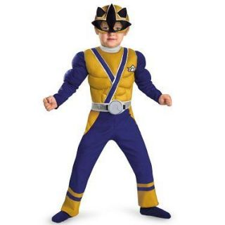 power rangers samurai gold ranger costume