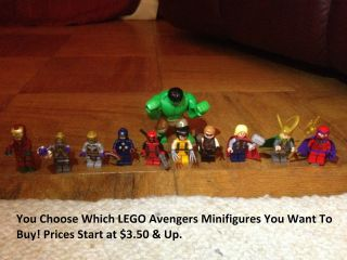 LEGO Avengers Minifigures   YOUR CHOICE   Marvel Super Heroes Iron Man