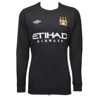 Manchester City FC Home Goalkeeper Shirt/Jersey 2010/11 Navy Blue Mens