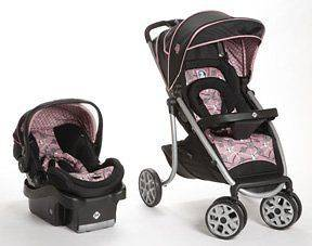 Safety 1st SleekRide™ LX Travel System Stroller