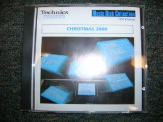 Technics Keyboard Software – Christmas 2000