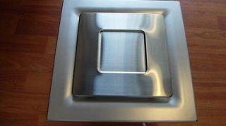 Stainless steel grid SILENT SERIES Bathroom Exhaust Fan, 95 CFM, NEW