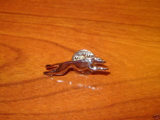 greyhound bus lines drivers uniform lapel/tie dog pin