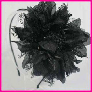 FLOWER HEADBAND HAIR BAND ACCESSORY WEDDING BRIDAL HEADPIECE