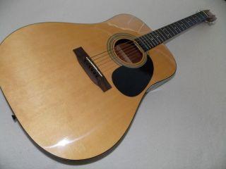 Martin Sigma DM 1 Acoustic Guitar Near Mint NR Rosewood Fretboard