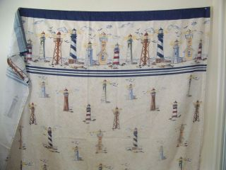 ... Lighthouse Shower Curtain In Shower Curtains ...