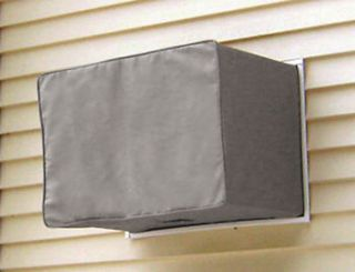 Air conditioner cover air conditioner cover decorative pillow for Window air conditioner covers exterior