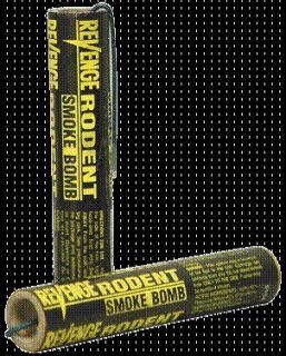 Revenge Smoke Bomb Rodent Killer Gas Gasser Kills gophers, moles, rats