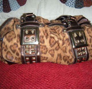 kathy van zeeland cheetah in Handbags & Purses