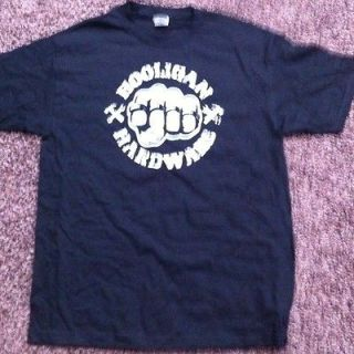 Hooligan Hardware Brass Knuckles T Shirt   Medium, Large, 2xl, 3xl
