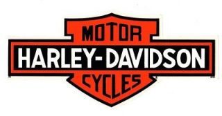 HARLEY DAVIDSON AUTHENTIC LONG BAR DECAL   BRAND NEW OUTSIDE DECAL