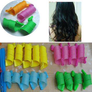 Hair Curlers Curlformers Spiral Ringlets Perm Leverage Rollers X18