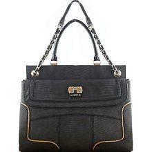 guess large shoulder bag handbag