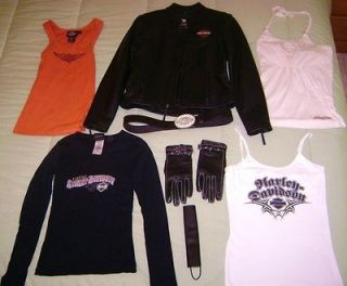 womens harley davidson clothing in Womens Clothing