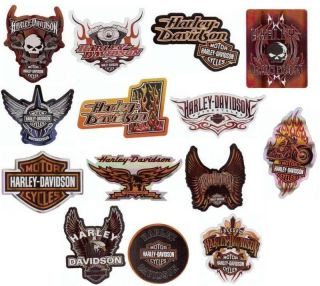 harley davidson stickers wholesale