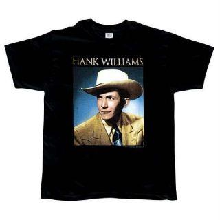 Hank Williams   Portrait T Shirt   Small
