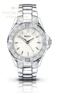 Seksy Intense by Sekonda Ladies Crystal Set Bracelet Watch 4522 RRP £