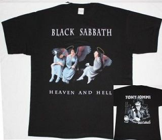BLACK SABBATH HEAVEN AND HELL80 OZZY DIO RAINBOW HEAVY BAND NEW BLACK