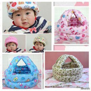 Toddler Safety Helmet Headguard Hats Cap No Bumps Adjustable 05 M001