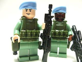 Lego custom U.N. SOLDIERS Marine Navy Seal Army Delta trooper U.N
