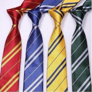 Harry Potter Gryffindor Tie Costume Accessory 4 Colours