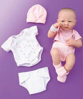 La Newborn Real Life like Baby Girl Doll, Nursery, Berenguer Layette