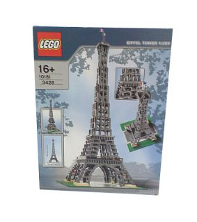 Lego Large Scale Models Buildings Eiffel Tower