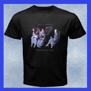 New BLACK SABBATH   HEAVEN AND HELL Album Cover Mens T Shirt S M L XL