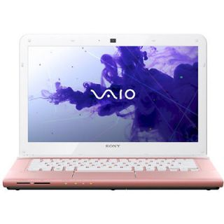 Sony VAIO E14 Series SVE14125CXP 14 Inch Laptop  Pink