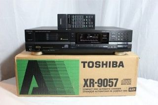 Toshiba 6 CD Compact Disc Player Changer w/Remote XR 9057