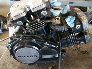 honda magna vf750 vf750c vf 750 v45 running engine motor sabre 1982