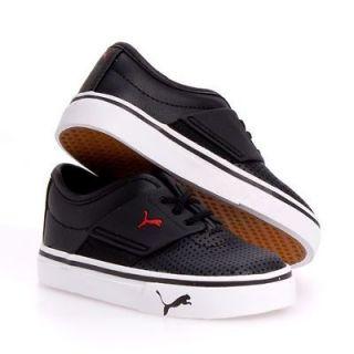 Puma El Ace Kids Leather Casual Boy/Girls Infant Baby Shoes sz 7
