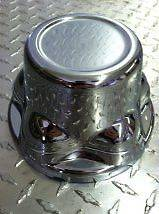 Chrome Trailer Wheel Hub Cap Covers SHARP 8   15 2.75 emblem