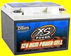 Deep Cycle 12 Volt 12V AGM Power Cell Battery D925 Brand New 2000 amps