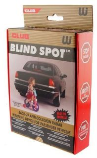 Club BLIND SPOT Back Up Anti Collision RADAR Protect Family, Self