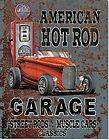 TIN SIGN HOT RAT ROD FORD DEUCE COUPE ROADSTER SEDAN MODEL A T BUCKET