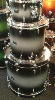 Yamaha drums sets Rock Tour 3 pc Textured Smoke Sunburst 12,16F,22